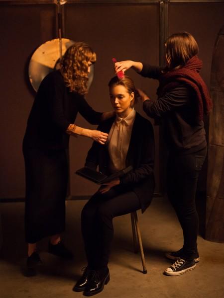 AVANTGAND - Zoob: backstage @ Melancholy shoot