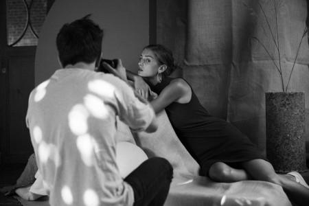 AVANTGAND - Zoob: Backstage shooting Emmanuëlle for Christine Bekaert