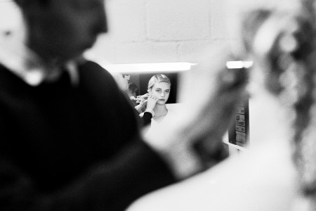 AVANTGAND - Zoob: Marie Quataert getting ready for the shoot