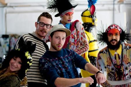 AVANTGAND - Zoob: backstage posing @ Tom Van Der Borght photoshoot